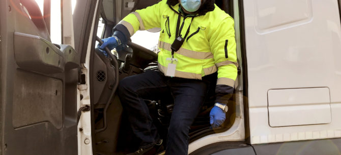 truck drivers essential workers