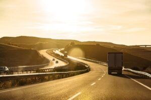 Truckers fail to check no-zones