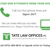 Tate Law Offices - Open 24/7 for You!
