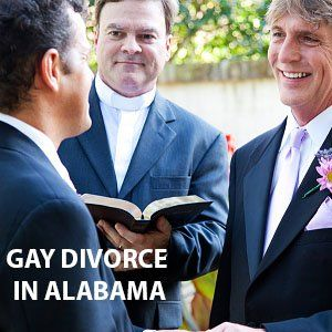 Gay Couple Marriage in Alabama