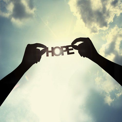 Never give up hope in difficult times