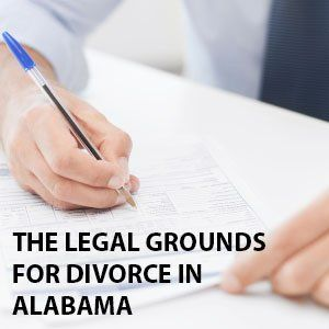Legal grounds for Divorce in Alabama