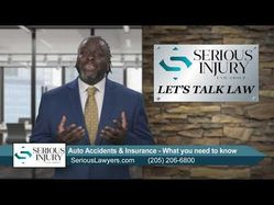 #LetsTalkLaw: What you need to know about Auto Accidents & Insurance - Attorney Adrian Crittenton