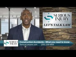 #LetsTalkLaw: What you need to know about Construction Accidents - Attorney Gerald Brooks
