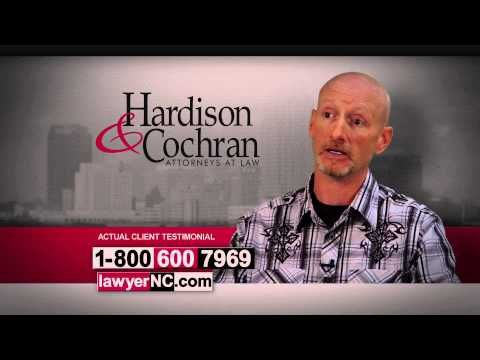 Raleigh, NC Workers' Compensation - Hardison & Cochran Client Testimonial