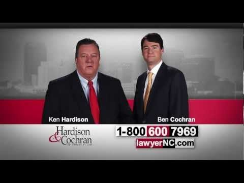 Do I Need A North Carolina Personal Injury or Workers' Compensation Lawyer? Hardison & Cochran