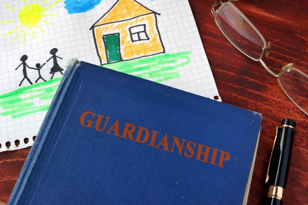 Book with title Guardianships