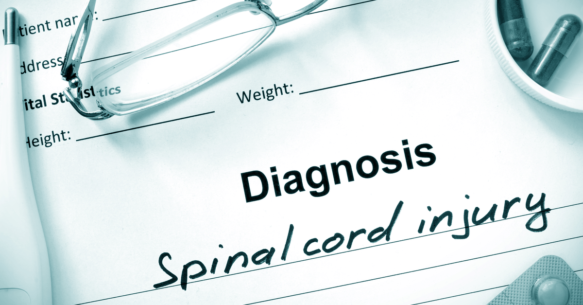 Diagnosis Spinal cord injury