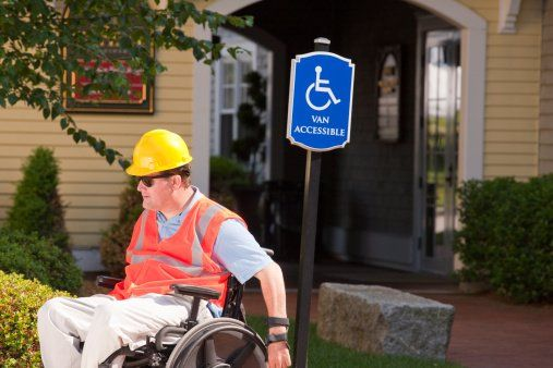 Safety for people in wheelchairs