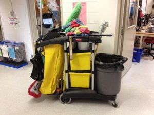 workplace injuries for janitors
