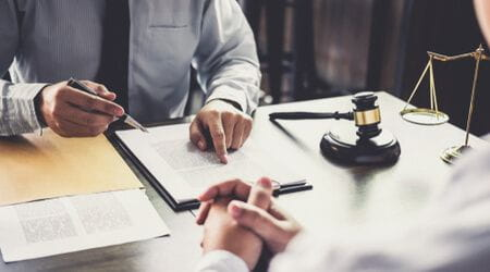 talking to an attorney after a truck accident