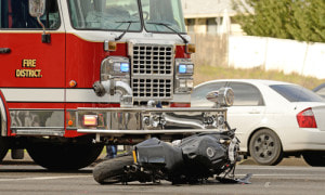 broadside motorcycle accident