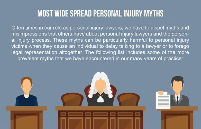 Our Hernando County injury lawyers list the most wide spread personal injury myths.