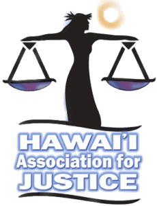 Hawaii Association for Justice Logo