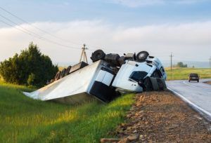 Why does the rollover accident happen?
