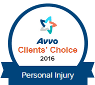 Avvo Personal Injury Award