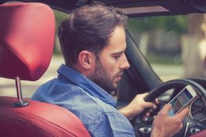 distracted driving accident