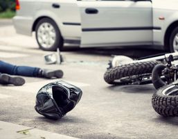 Motorcycle accident in Florida