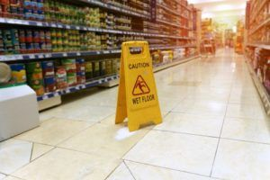 Grocery store slip and fall settlements