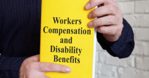 workers compensation disability benefits shown on