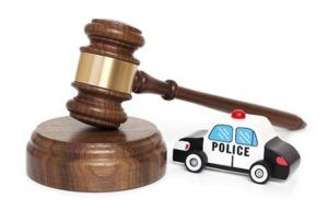 car and gavel