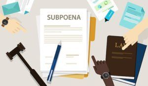 Fake Subpoenas