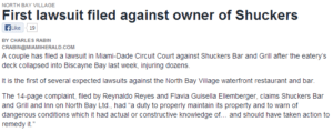 lawsuit filed against owner of shuckers bar