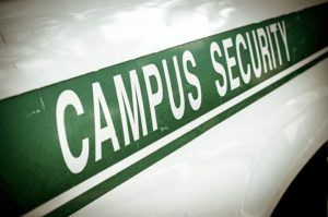 campus security arrest for underage drinking