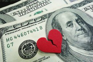 how to avoid going broke during and after divorce