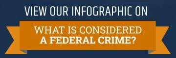 What is Considered a Federal Crime Infographic