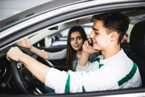Young millennials are likely to engage in driving behaviors that commonly result in car accidents, ranging from aggressive driving to distracted driving.