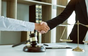 client cooperating with personal injury lawyer