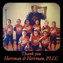 Lady longhorns with Gregory Herrman