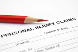 personal injury claim forms