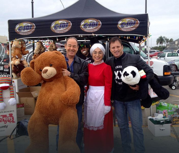 toys for tots event with Gregory Herrman