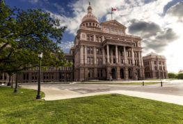 texas state capitol in Austin TX where they pass new laws