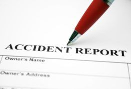 filing a car accident report