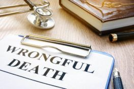 wrongful death claim documents reviewed by an attorney