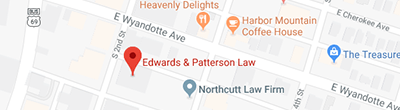 mcalester side edwards & Pattorson Law Map