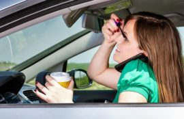 Injured in accident caused by Distracted Driver? Contact our McAlester distracted driving accidents attorney today.