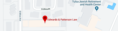 Tulsa Edwards & Patterson Law Office Map