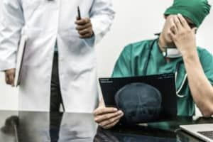 surgeon got tensed after seeing the report