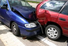car accident caused by the other driver making a mistake