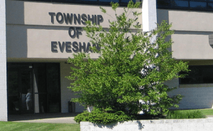 Photograph of front of Evesham Township Municipal Court