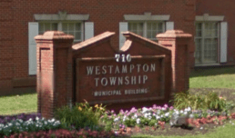 Photograph of front of Westampton Municipal Court.