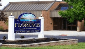 Photograph of front of Florence Municipal Complex
