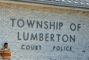 Photo of frontage of Municipal Court in Lumberton NJ