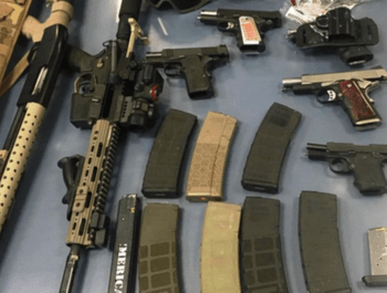 It is illegal to possess a handgun, rifle or shotgun in Hudson County, including Jersey City, Secaucus, Bayonne, West New York, Union City, Kearny and Hoboken New Jersey.