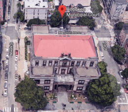 Hoboken Municipal Court is the place where all disorderly persons offenses issued in the city are adjudicated including summons/complaints for resisting arrest, disorderly conduct, simple assault, drug possession (marijuana, cocaine, prescription drugs) and obstructing the administration of law.