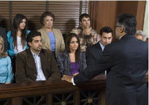 Our NJ heroin attorney talks to a jury.